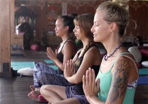 yoga meditation santosha bali