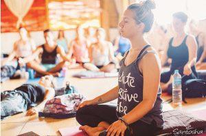 Meditation, yoga Santosha, Bali, ubud, canggu